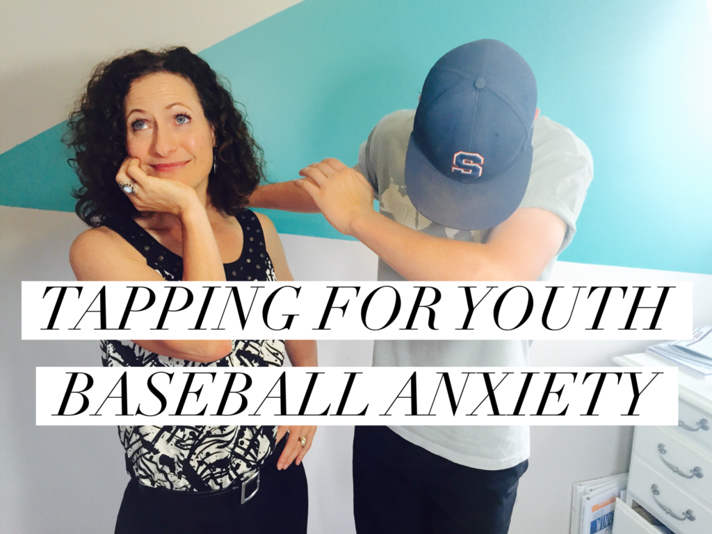 tapping for youth anxiety